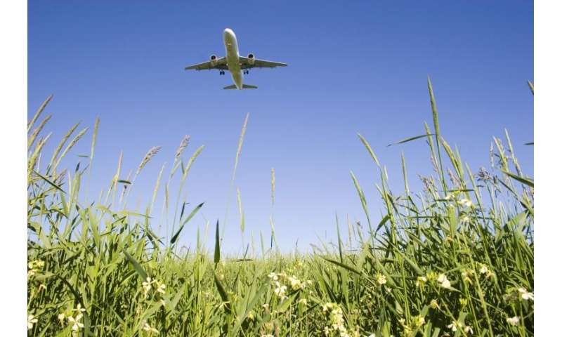Want to save energy? Fly the environmentally friendly skies