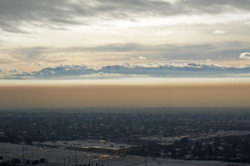 Water in smog may reveal pollution sources