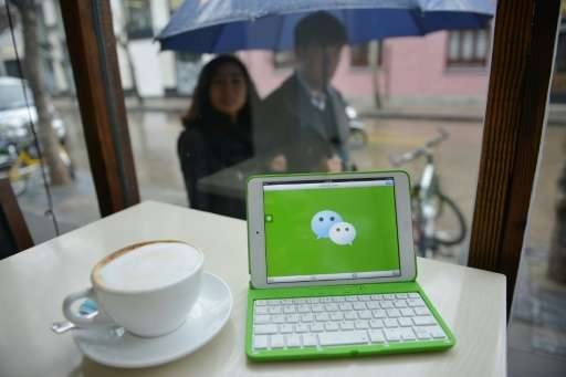 WeChat, an instant messaging application developed by Tencent, has hundreds of millions of users in China and around the world