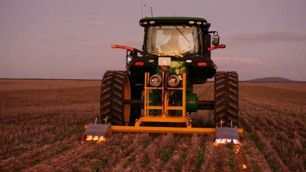 Weed sizzle holds potential for paddock control