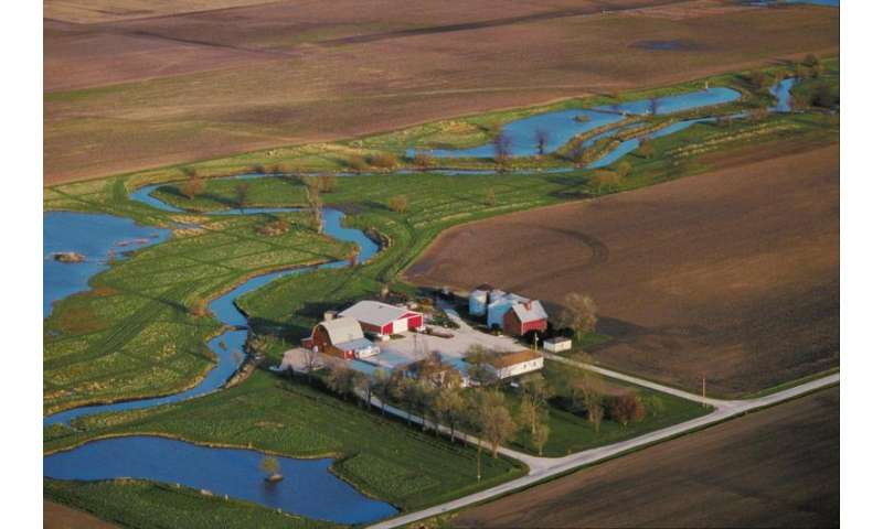 Wetlands continue to reduce nitrates