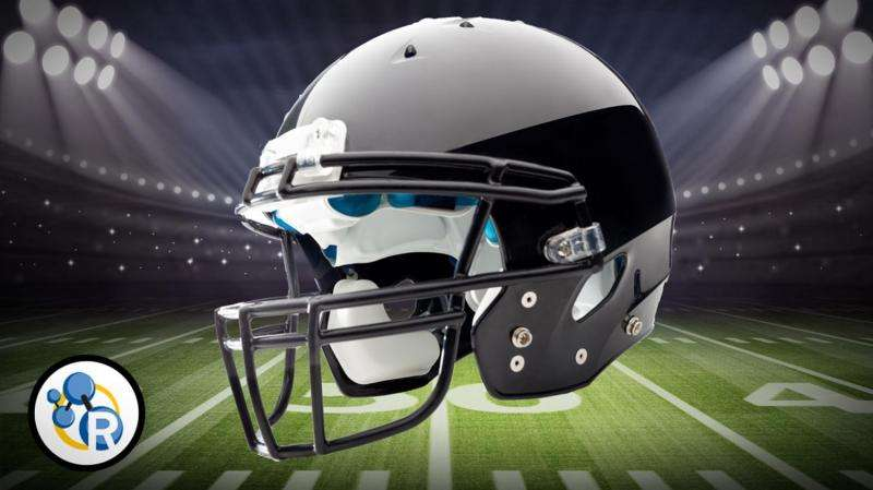 What's in a football helmet? (video)
