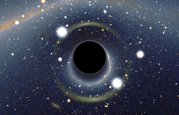 What's on the surface of a black hole?