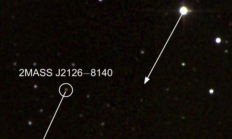 1 trillion kilometres apart—a lonely planet and its distant star
