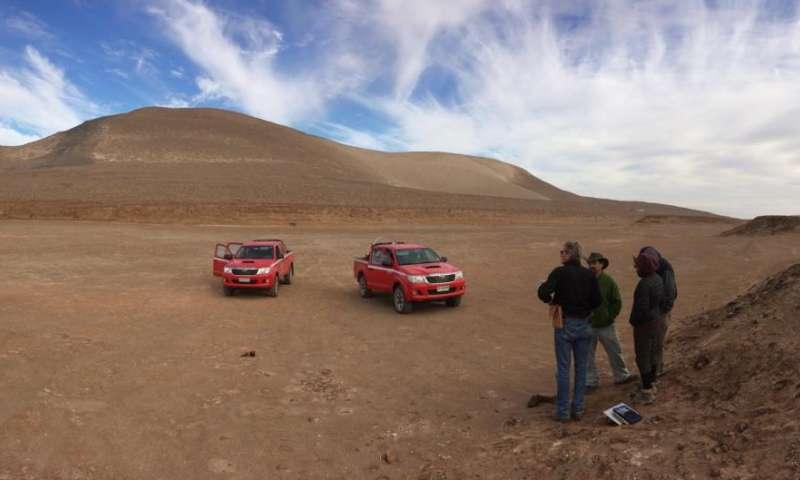 AGU Fall Meeting: Atacama Desert may have harbored lakes, wetlands