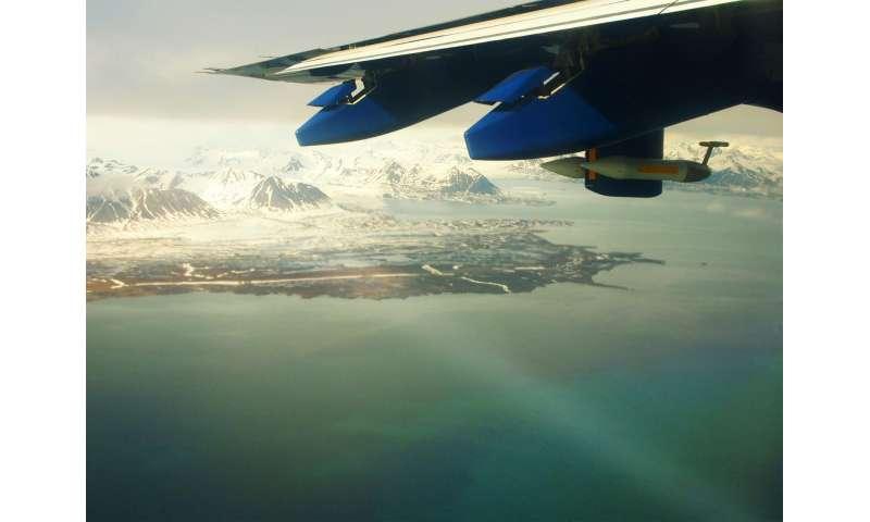 Arctic Ocean methane does not reach the atmosphere