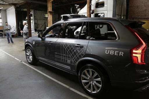 Arizona governor welcomes Uber fleet of self-driving cars (Update)