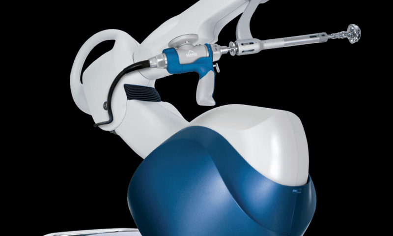 Australia's first robotic help in a hip replacement operation