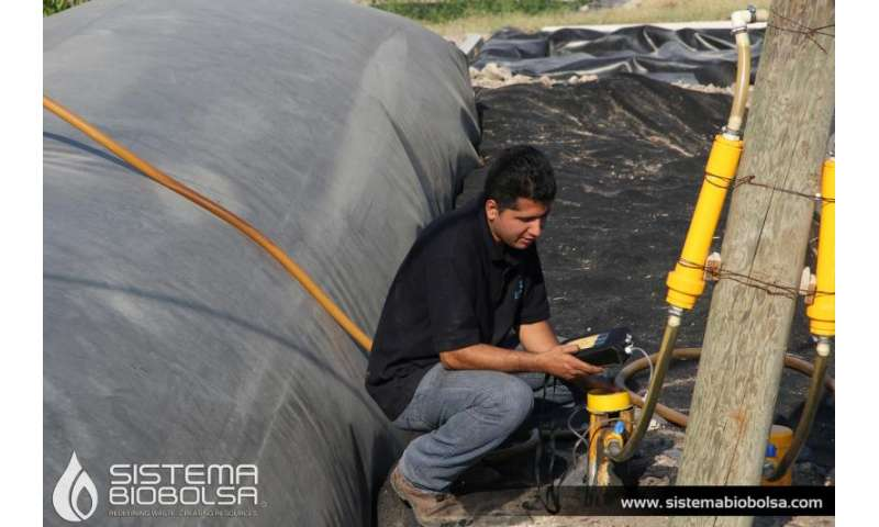 Bio-digester supplies energy to 3000 farms