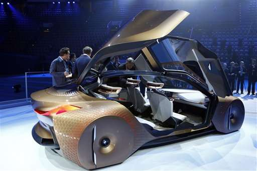 Bmw Shows Off Concept Car For The Self Driving Future