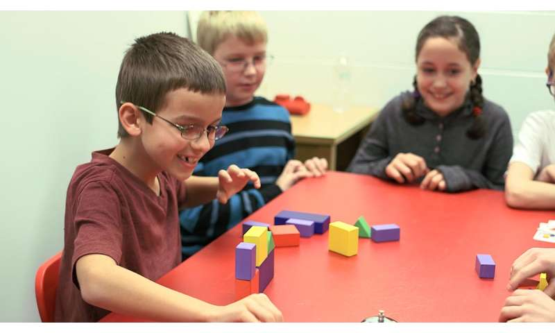 Brain scans show building blocks activate spatial ability in kids better than board games