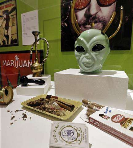 California pot exhibit aims for debate on provocative plant