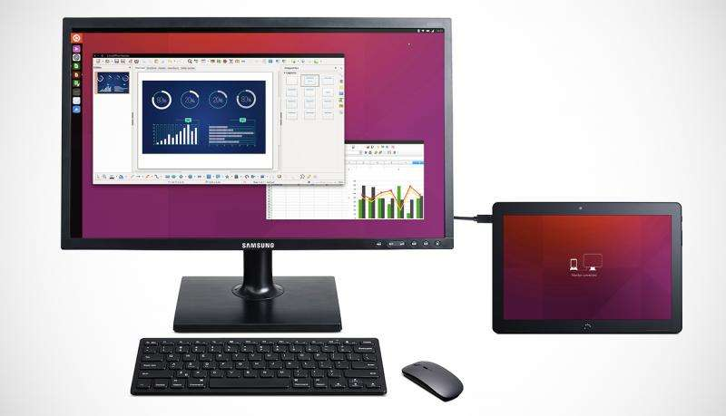 Canonical trumpets Ubuntu tablet's convergence features