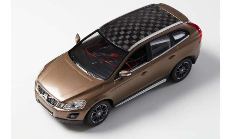 Carbon fibre from wood is used to build car