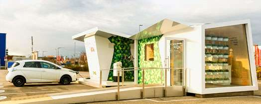 ChargeLounge E-charging station for IKEA customers
