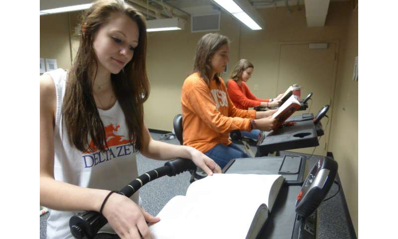 Clemson professor finds positive effects from bringing physical activity to the desk