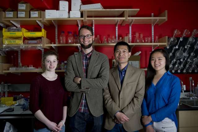 Color-changing materials could be used to detect structural failure in energy-related equipment