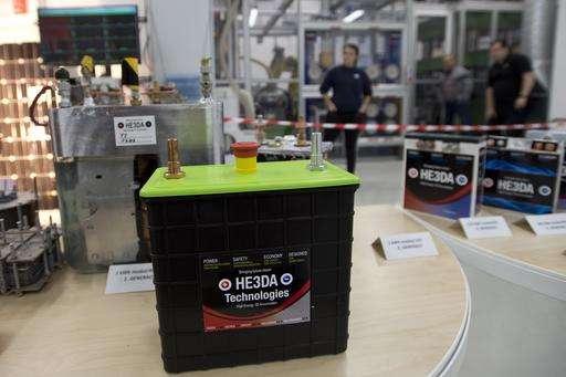 Czechs open production of batteries based on nanotechnology