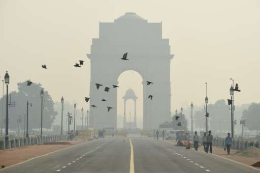 Delhi has been shrouded in a toxic soup in recent days as pollution levels spiked after the Diwali festival
