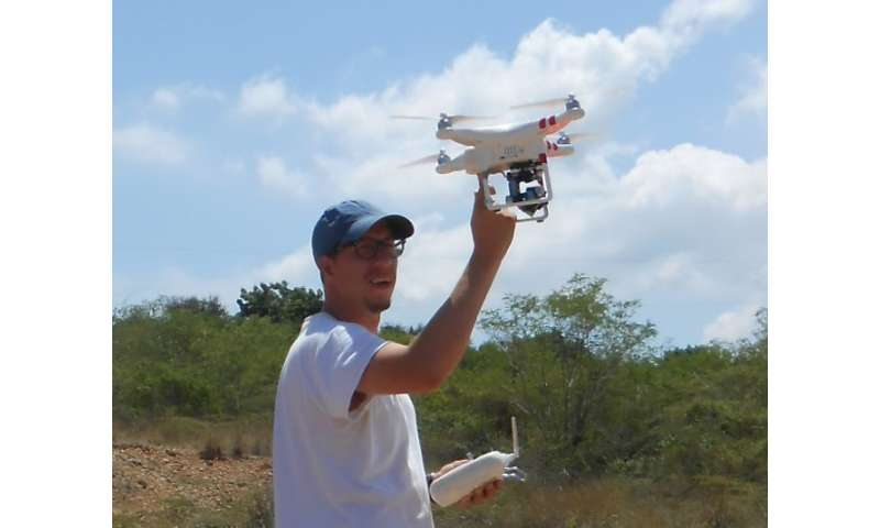 Drones help write new history of Caribbean
