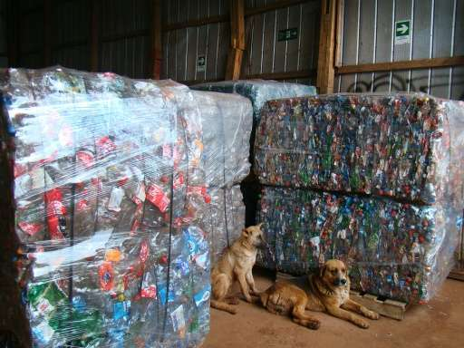 Easter Island's authorities estimate that between now and 2025, itwill import 32 tonnes of cardboard, 18 of plastic, 12 of alum