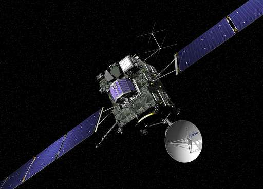 Europe's comet chaser Rosetta concludes 12-year-mission
