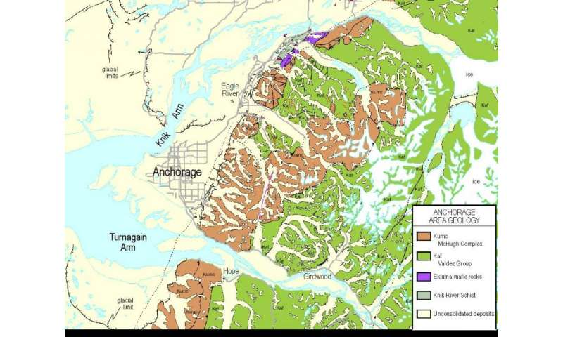 First ever digital geologic map of Alaska published