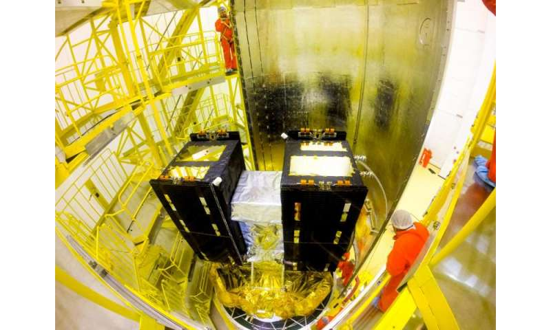 Galileo signals covering more of the sky