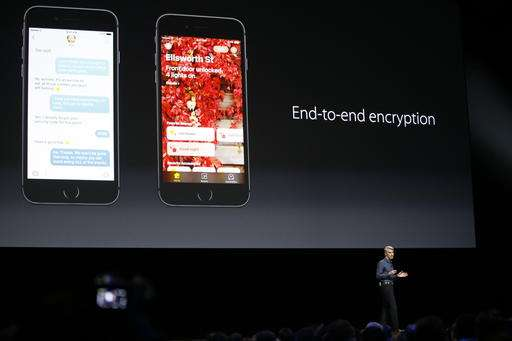Glance: Apple unveils messaging app, improvements to Siri