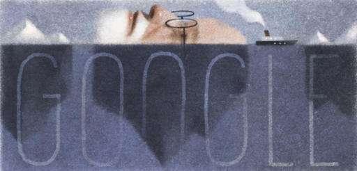 Google front page celebrates Sigmund Freud's 160th birthday