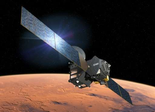 High-stakes manoeuvres should see a lander dubbed Schiaparelli make a dash for the surface of Mars, while the Trace Gas Orbiter