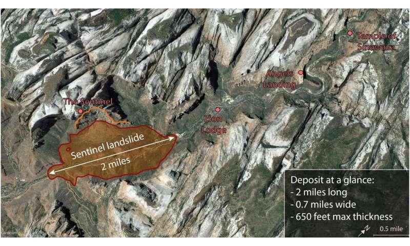 How a huge landslide shaped Zion National Park