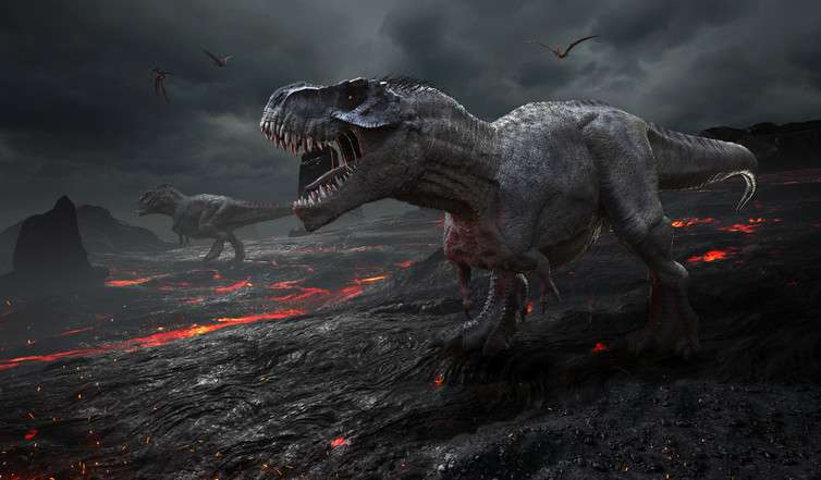 How does an invisible underwater crater prove an asteroid killed the dinosaurs?