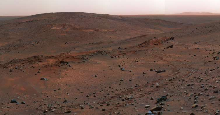 How our discovery of microbe traces in ancient rocks on Earth could help us find life on Mars