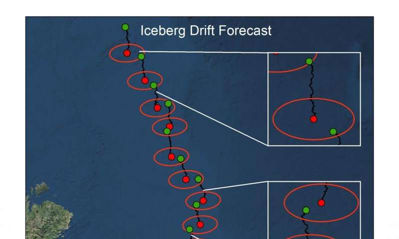 Iceberg patrol gains faster updates from orbit