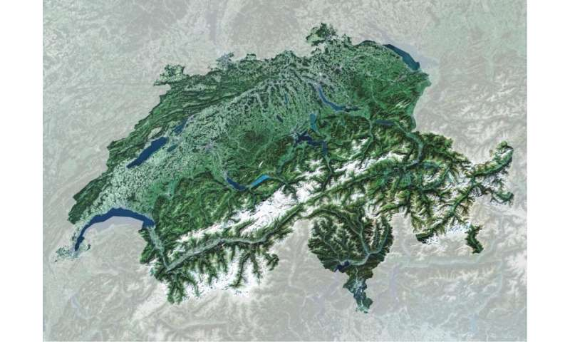 Image: Copernicus Sentinel-2A satellite captures Switzerland