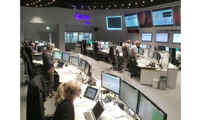 Image: ExoMars mission control team