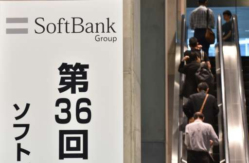 Japan's SoftBank said it hoped to raise up to $100 billion for the Saudi Arabian fund designed to invest in promising technology