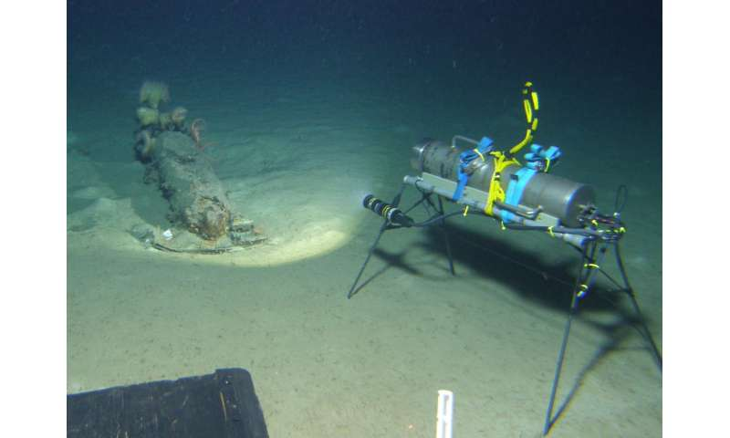 Knowledge of chemical munitions dumped at sea expands from international collaboration