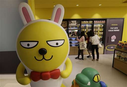 Mobile chat apps Line, Kakao flourishing among young Asians