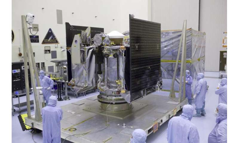 NASA begins launch preparations for the first U.S. asteroid sampling mission