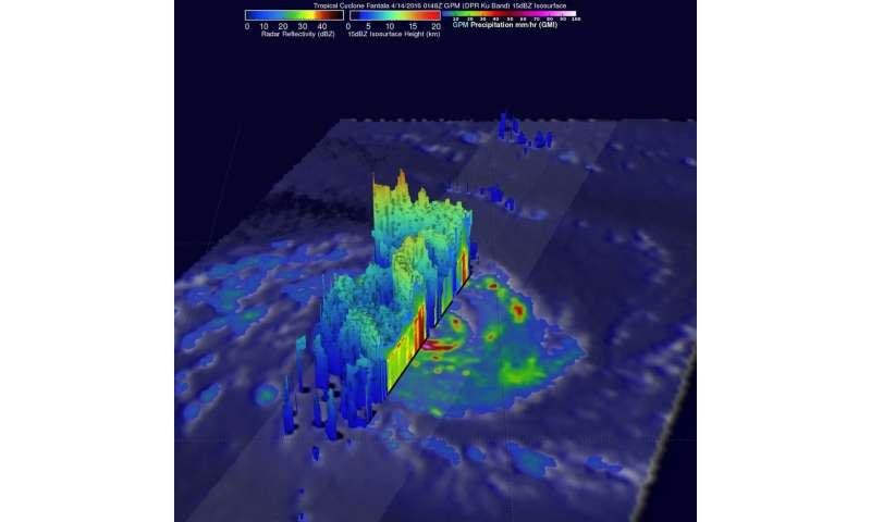 NASA eyes major Tropical Cyclone Fantala as it triggers warnings for Mauritius