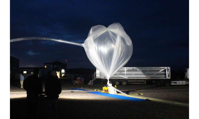 NASA-funded balloon mission begins fourth campaign