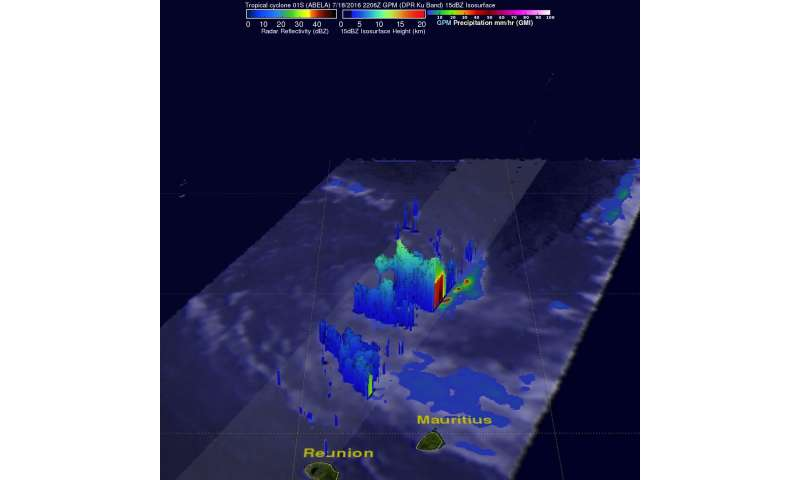 NASA Looks at Tropical Cyclone Abela in 3-D