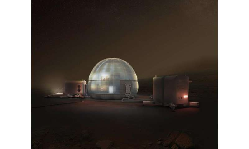 NASA might build an ice house on mars