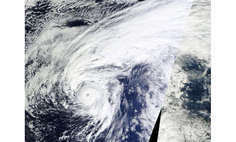 NASA sees formation of unusual North Atlantic Hurricane Alex