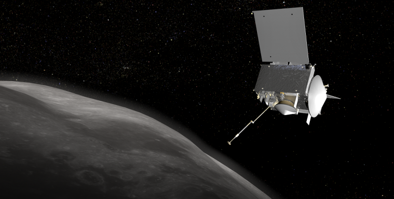 NASA's OSIRIS-REx spacecraft in good health after testing its thrusters