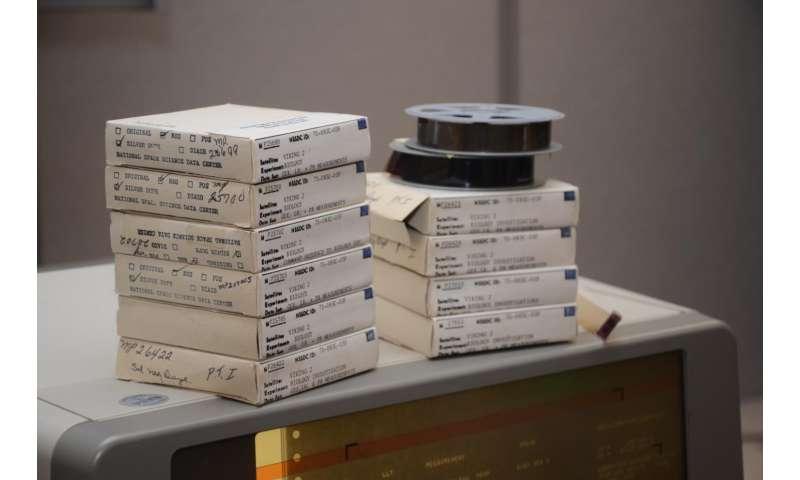 NASA's Viking Data Lives on, Inspires 40 Years Later