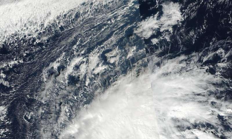 NASA tracking a stronger Tropical Storm Nock-Ten
