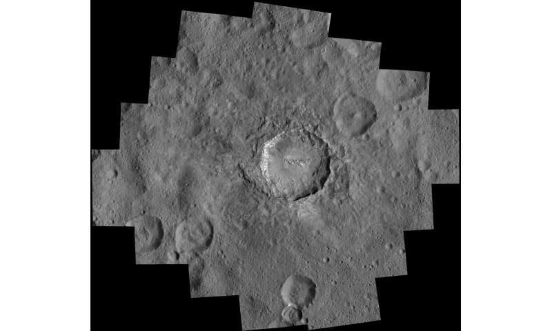 New Ceres images show bright craters